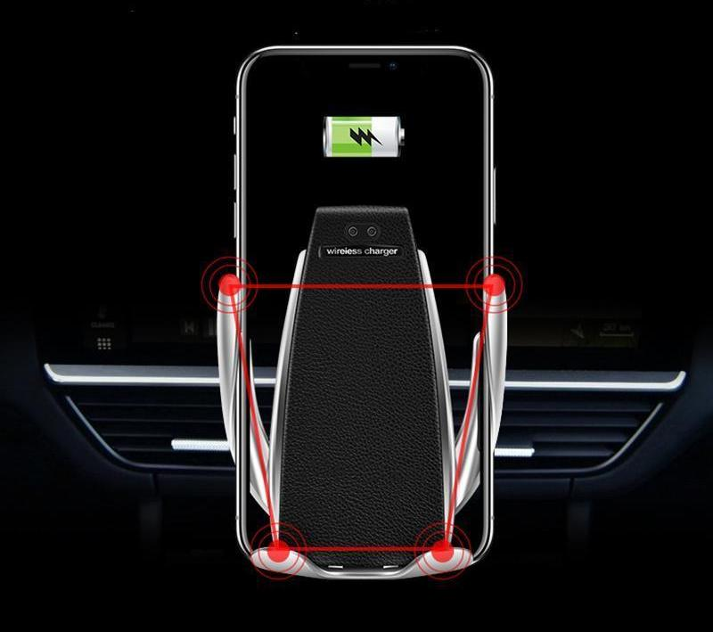 VX Ultra-Charge (2019 Model) - State-Of-The-Art Wireless Automatic Fast-Charge Car Phone holder