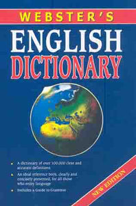 Webster  English Dictionary Nw Edition - Hc