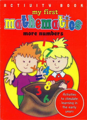 Activity Book My First Mathematics: More Numbers