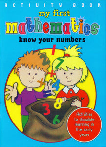 Activity Book My First Mathematics: Know Your Numbers
