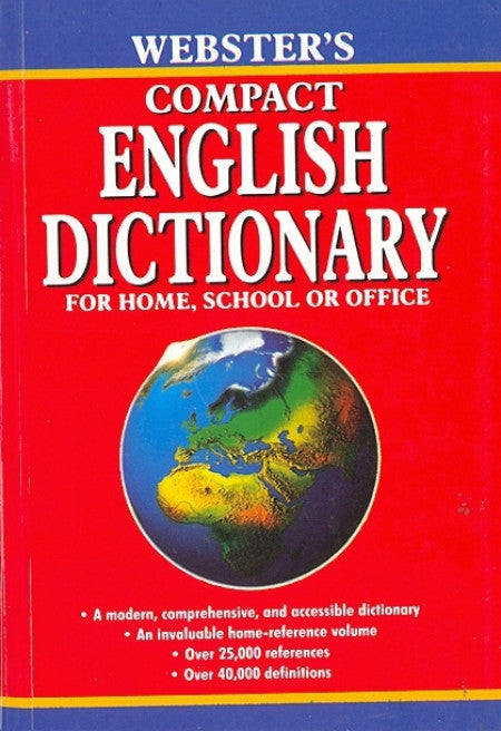Webster'S Compact English Dictionary - Saku