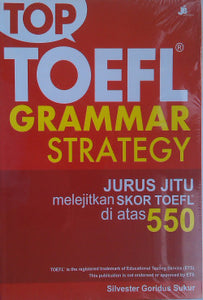 Top Toefl Grammar Strategy