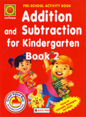 Addition And Subtraction For Kindergarten 2