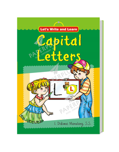 Let's Write And Learn: Capital Letters