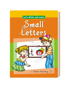 Let's Write and Learn: Small Letters_SC