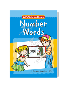 Let's Write and Learn: Numbers Words