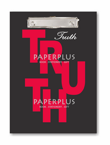 Clipboard Kecil / Papan Jalan A5 TRUTH