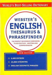 Websters English Thesaurus And Phrasefinder - Saku