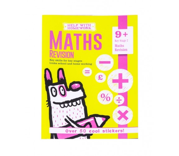 9+ Maths Revision - With over 50 cool stickers