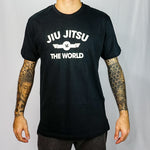Camiseta Masc. Choke Jiu Jitsu Vs World - Preto