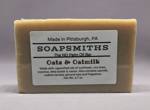 Oats & Oatmilk Palm Free Soap