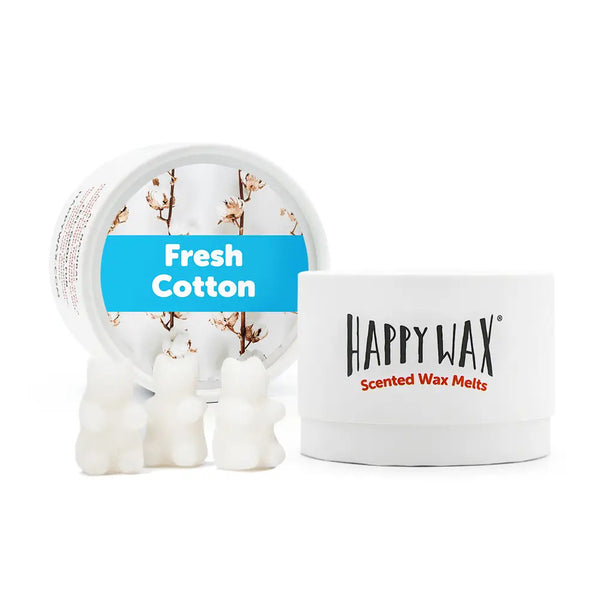 Happy Wax Melts- Fresh Cotton- Tin