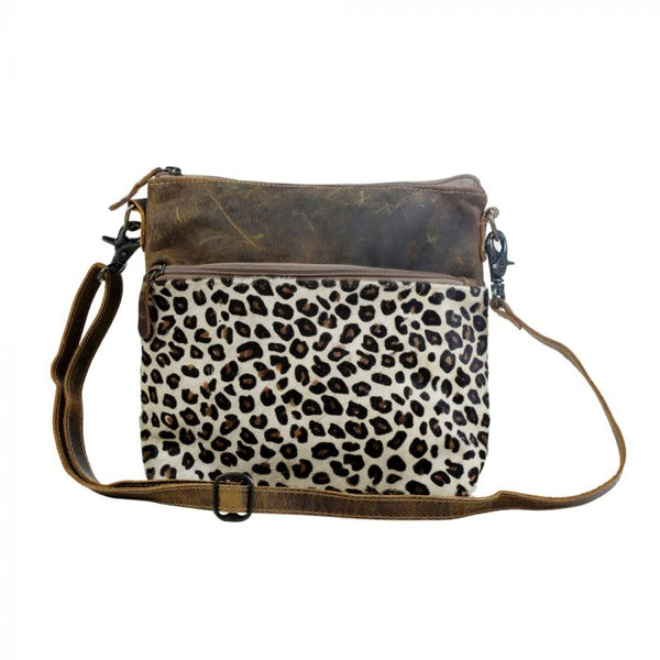 Feline Leather & Hairon Bag