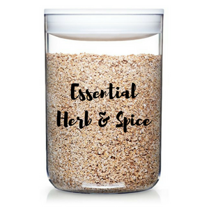 Essential Herb & Spice Labels - selected dozen