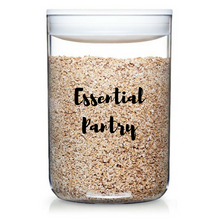 Essential Pantry Labels - selected dozen