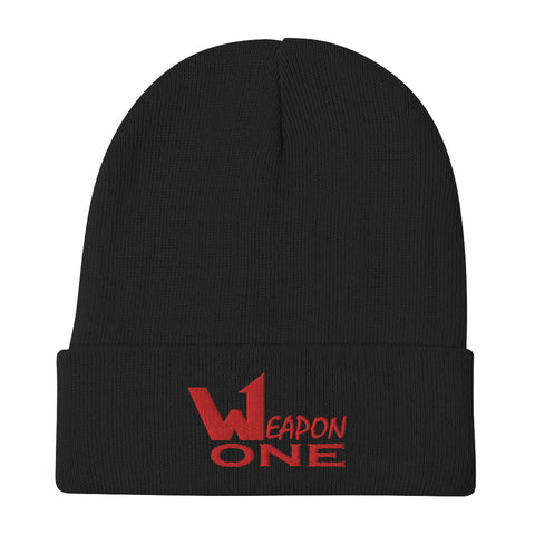 Weapon One Embroidered Beanie