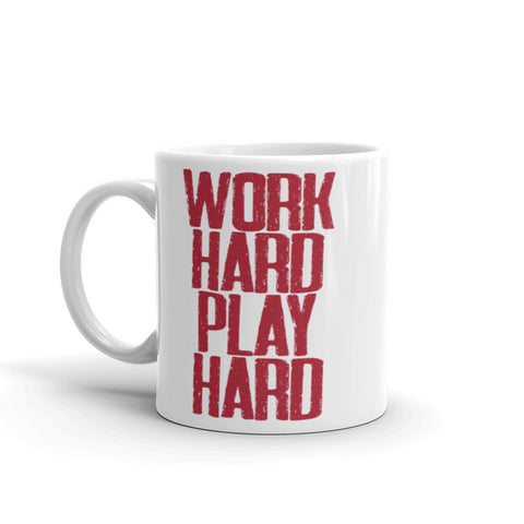 Work Hard Play Hard Mug