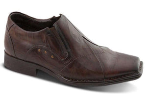 BUY LADIES LEATHER SHOES - MIDAS - Mix Conhaque - FERRACINI CALCADOS -  Via Nova/Ferracini Outlet