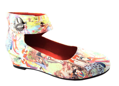 BUY LADIES LEATHER SHOES - LAZ - MULTI PRINT JAPAN - VAGO -  Via Nova/Ferracini Outlet