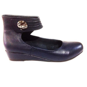 BUY LADIES LEATHER SHOES - LAZ - BLACK KID - VAGO -  Via Nova/Ferracini Outlet