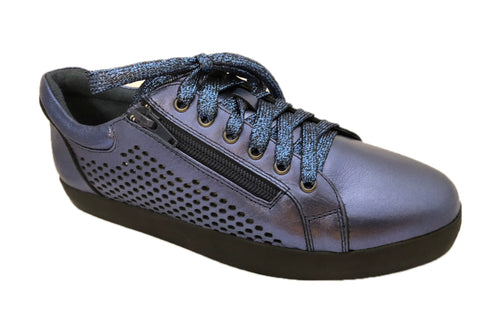 BUY LADIES LEATHER SHOES - ARCADE-B BLACK SOLE - VAGO -  Via Nova/Ferracini Outlet