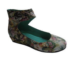 BUY LADIES LEATHER SHOES - LAZ - PEACOCK PRINT - VAGO -  Via Nova/Ferracini Outlet