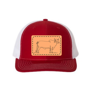 Bellville Leather Patch Hats