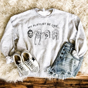 My Playlist Sweatshirt