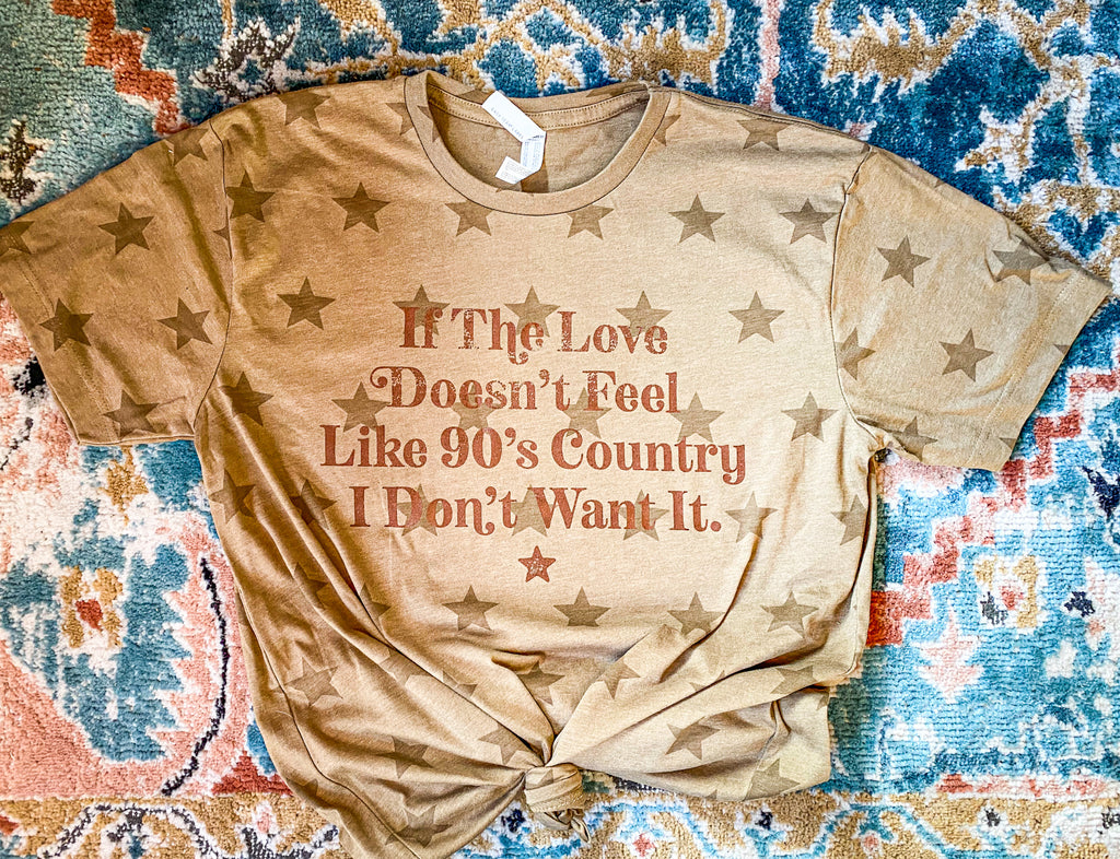 90's Country Star Tee