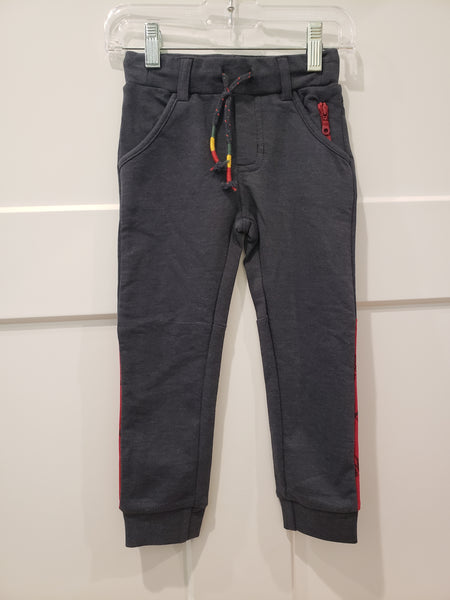 Jogging Pants in Grey Mix