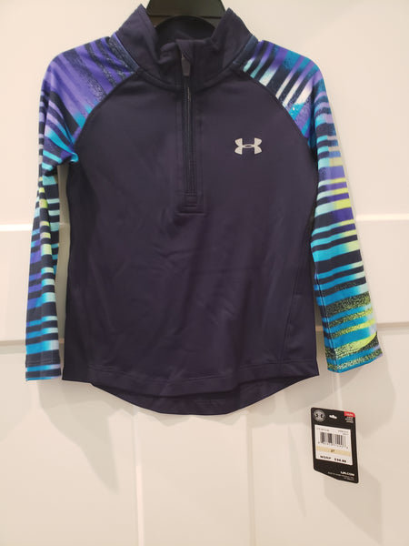 Girls 1/4 Zip Top