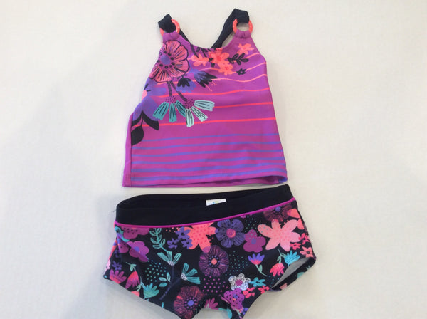 Floral Boy Short Swimsuit
