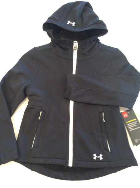 Girls Under Armour Black Storm Jacket