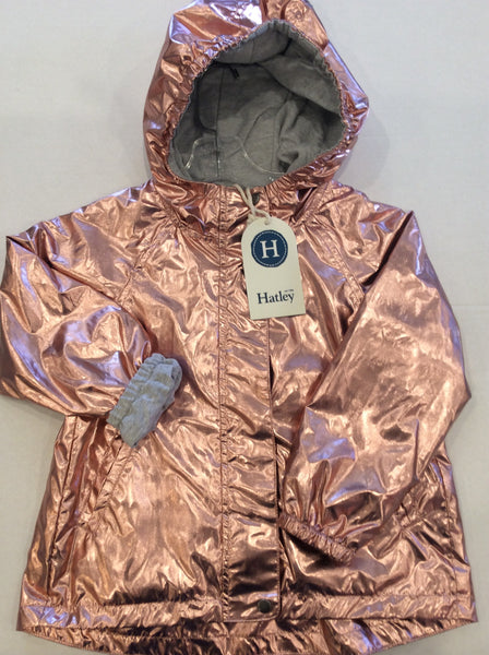 Terry Lined Rain Jacket