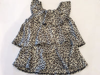 Layered Leopard Top