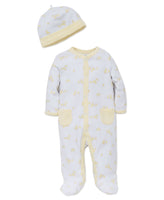 Duck Footie & Hat Set