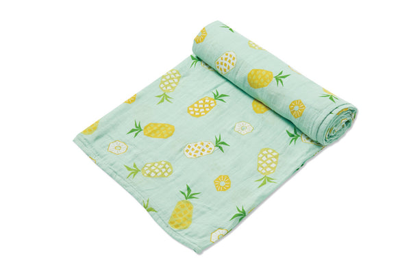 Pineapple Aqua Swaddle