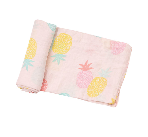 Pineapple Pink Swaddle