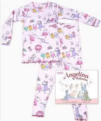 Angelina Ballerina Book & PJ Set