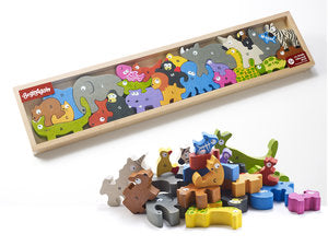 Animal Parade Puzzle A to Z