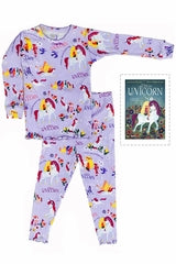 Uni the Unicorn Books to Bed PJ Set