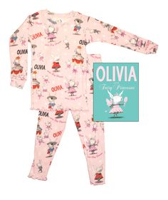 Olivia Book & PJ Set