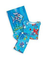 Rainbow Fish Book & PJ Set