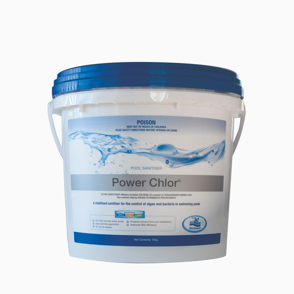 Power Chlor 10KG - The Pool & Leisure Centre