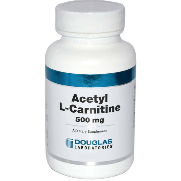 Douglas Laboratories, Acetyl L-Carnitine 500 Mg, 60 Capsules - 310539018767 | Hilife Vitamins