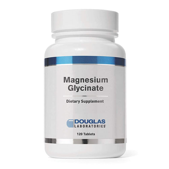 Douglas Laboratories, Magnesium Glycinate, 120 tablets - 310539978986 | Hilife Vitamins