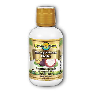 Dynamic Health, Mangosteen Gold 100% Pure, 16 Oz - 790223100730 | Hilife Vitamins
