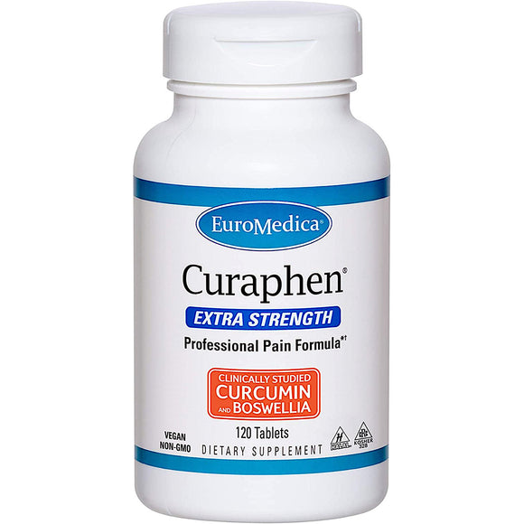 Euromedica, Curaphen Extra Strength, 120 Tablets - 367703612023 | Hilife Vitamins