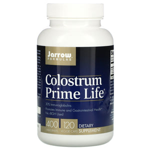 Jarrow Formulas, Colostrum Prime Life, 500 mg, 120 Capsules - 790011210108 | Hilife Vitamins