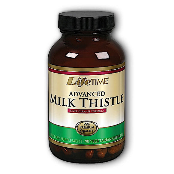 Lifetime, Milk Thistle Blend Advanced, 90 Capsules - 053232301148 | Hilife Vitamins